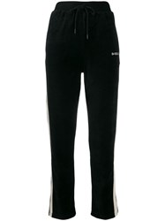 Diesel Embroidered Logo Track Pants Black