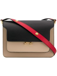 Marni Trunk Shoulder Bag Black