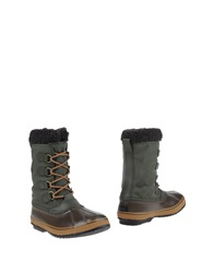 Sorel Boots Military Green