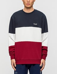 Undefeated Paneled Fleece Crewneck Sweatshirt