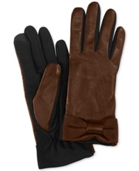 Charter Club Tech Bow Gloves Java