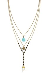 Women's Louise Et Cie Multistrand Pendant Necklace