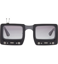 Jeremy Scott Television Sunglasses Black