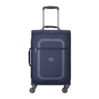Delsey Dauphine 3 4 Wheel Trolley Case Navy Blue