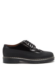 Joseph Trek Sole Leather And Rubber Brogues Black