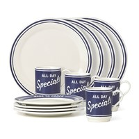 Kate Spade Order's Up Dinner Set 12 Pieces