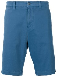 Dolce And Gabbana Friends Patch Chino Shorts Blue