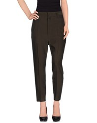 Haider Ackermann Trousers Casual Trousers Women Dark Green