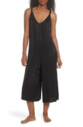 Lacausa Sienna Crop Lounge Jumpsuit Tar