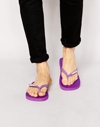 Gandys Flip Flops In La Purple