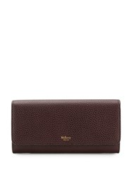 Mulberry Classic Continental Wallet Brown
