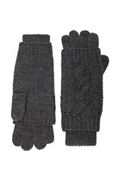 Forever 21 Cable Knit Gloves