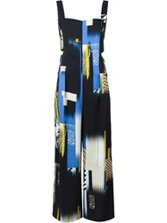 Lala Berlin Collage Print Jumpsuit Multicolour