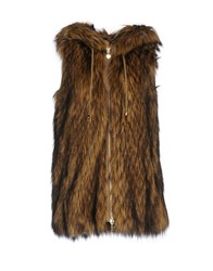 Twin Set Jeans Coats And Jackets Faux Furs