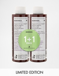 Korres Limited Edition 1 1 Almond And Linseed Shampoo 250Ml Save 50 Almondlinseed