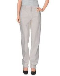 Jil Sander Trousers Casual Trousers Women Ivory