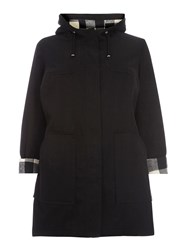 Evans Black Cotton A Line Mac