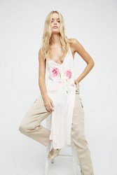 Free People Womens Lone Flower Maxi Top