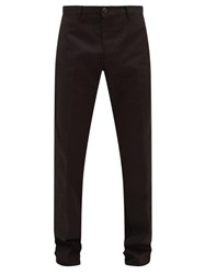 Noon Goons No Doubt Twill Trousers Black