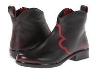 Naot Footwear Sirocco Volcanic Red Leather Ruby Leather Women's Boots Black