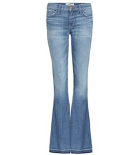Current Elliott The Low Bell Flared Jeans Blue