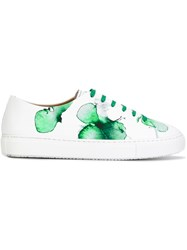 Fratelli Rossetti Floral Print Sneakers White