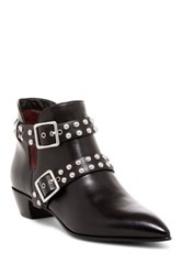 Marc By Marc Jacobs Carrol 2 Strap Studded Boot Black
