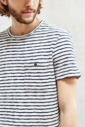 Cpo French Terry Stripe Tee Ivory