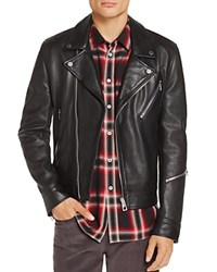 Paul Smith Ps Leather Moto Jacket 100 Exclusive Black