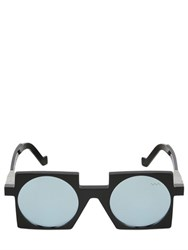 Vava Square Framed Mirrored Sunglasses