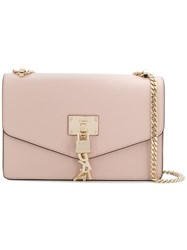 Donna Karan Elissa Large Shoulder Bag Pink