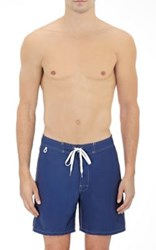 Sundek Men's Solid Swim Trunks Navy