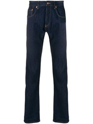 Natural Selection Straight Leg Jeans Blue