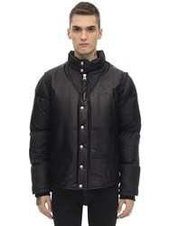 Schott Baltimore 19 Leather Jacket Black