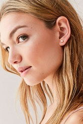 Urban Outfitters Neon Rainbow Star Post Earring Pink