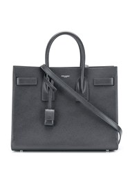 Saint Laurent Top Handles Tote Bag Grey