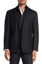 Kroon Men's Big And Tall 'Ritchie' Classic Fit Sport Coat Navy