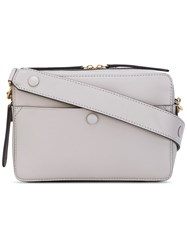 Anya Hindmarch Structured Crossbody Bag Women Calf Leather One Size Nude Neutrals