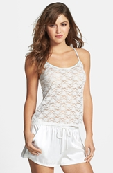 In Bloom By Jonquil 'The Bride' Lace Camisole Ivory