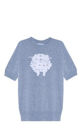 Barrie Sheep Knit Top Grey