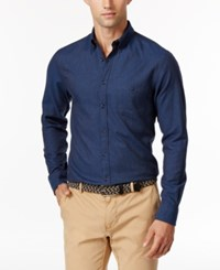 Tommy Hilfiger Men's Nocturnal Twill Shirt