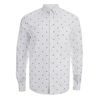 Wood Wood Men's Timothy Shirt Box White