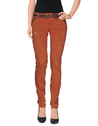 Met And Friends Jeans Rust