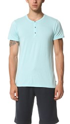 Sol Angeles Sol Essentials Short Sleeve Henley Pool