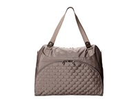 Mosey Move A Long Tote Mushroom Tote Handbags Gray