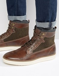 Call It Spring Safforze Laceup Boots Brown