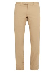 Polo Ralph Lauren Slim Fit Stretch Cotton Chino Trousers Beige