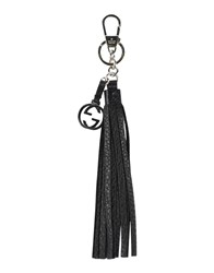 Gucci Small Leather Goods Key Rings Women Black