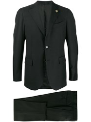 Lardini Two Piece Formal Suit Black