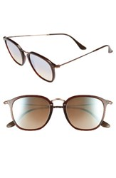 Ray Ban Women's Wayfarer 51Mm Sunglasses Transparent Brown
